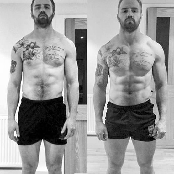 An example of an experienced trainer benefiting from correct volume and frequency of sessions with LDNMuscle.