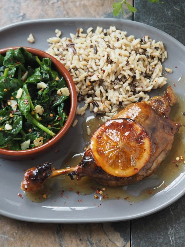 Roasted Duck with Oranges Recipe