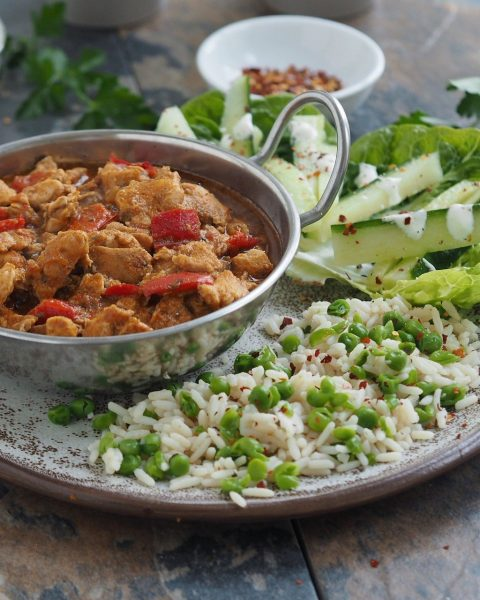 Healthy Chicken Korma Recipe