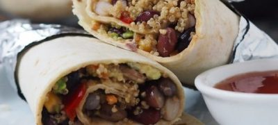 Vegetarian Burritos Recipe